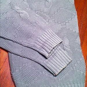 Eddie Bauer Sweaters - Eddie Bauer XL Crew Neck Knit Sweater Men Blue